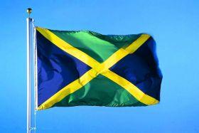 Флаг Ямайки государственный 90х150 см