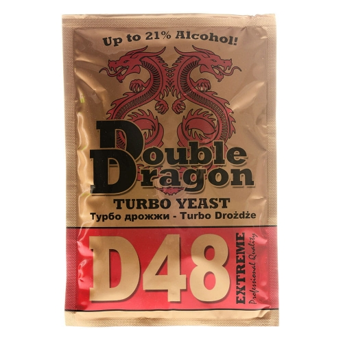 Дрожжи Double Dragon D48 Turbo, 132 гр