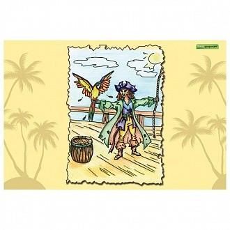 Альбом для рисования 12 листов Пираты