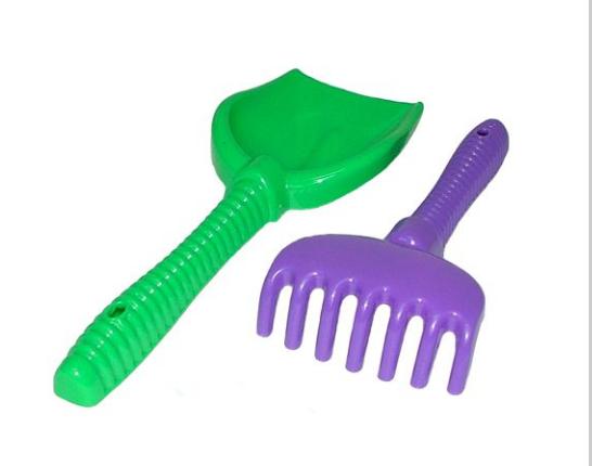 Игрушка для песка - набор лопата,грабли