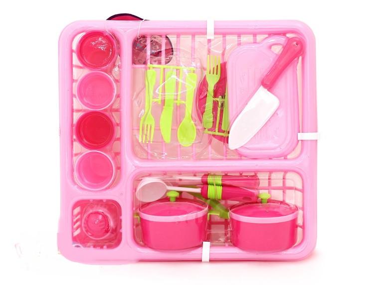 Набор игрушечной посуды Girl's Club в корзинке 29*27*10 см