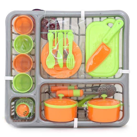 Игровой набор Посуда Girl's club в корзинке 29*27*10 см
