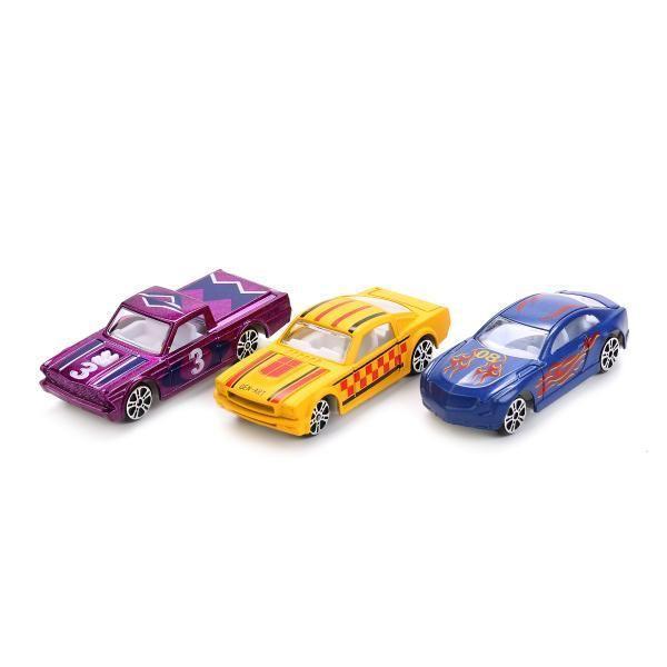 "Машина ""технопарк"" металл. 7,5см цвет в ассорт. На блистере"