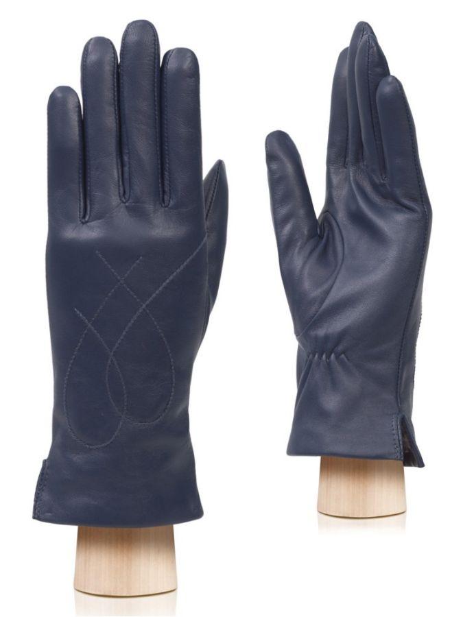 Кожаные перчатки с широкими манжетами LABBRA