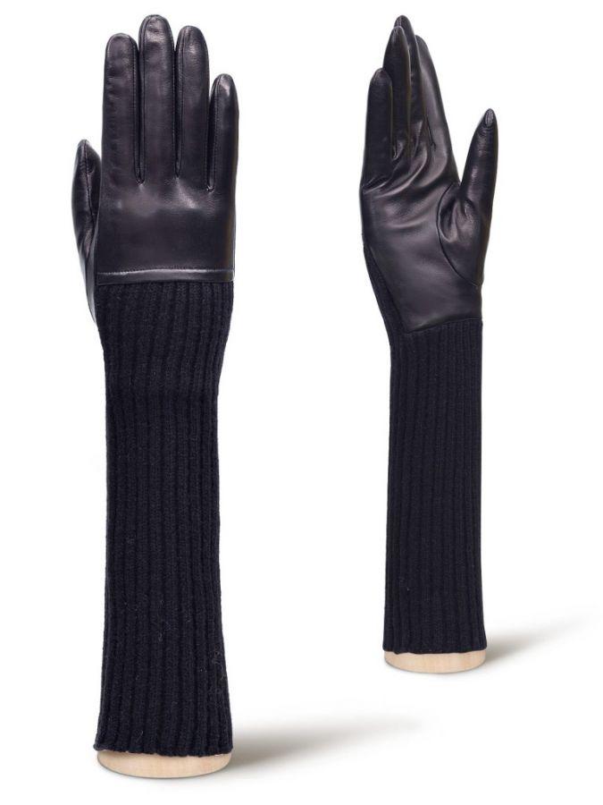 Длинные трикотажные перчатки ELEGANZZA