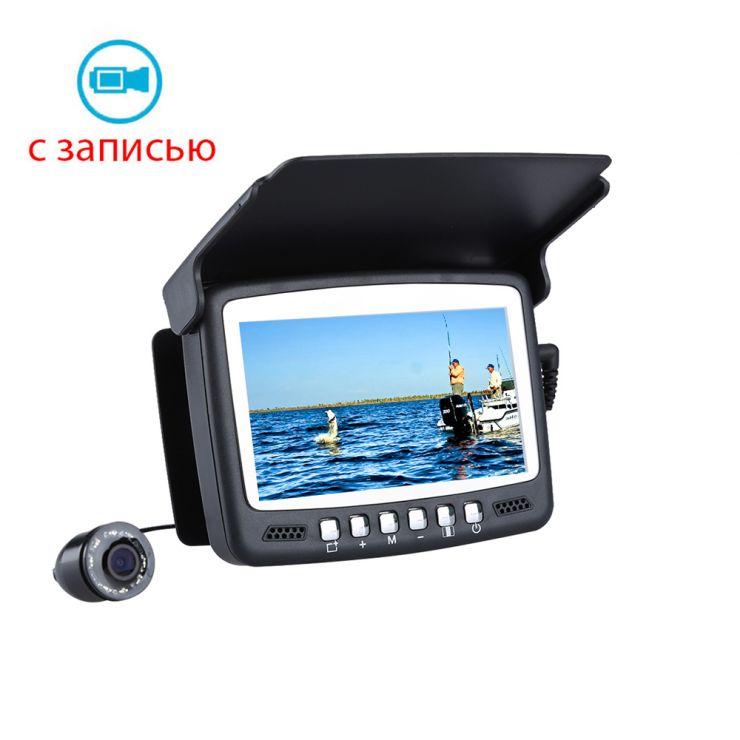 """Камера подводная с записью ViewEye 4.3"""" 15м инфракрасная подсветка"""