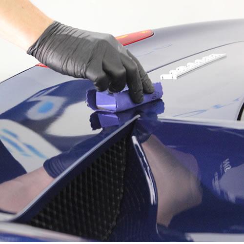 Нанесение керамического покрытия кузова авто Gyeon Q2 Mohs
