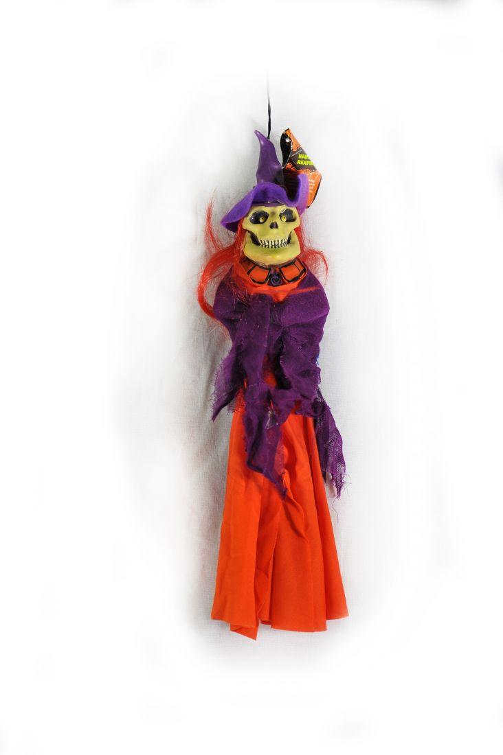 Декорация Ведьма-скелет