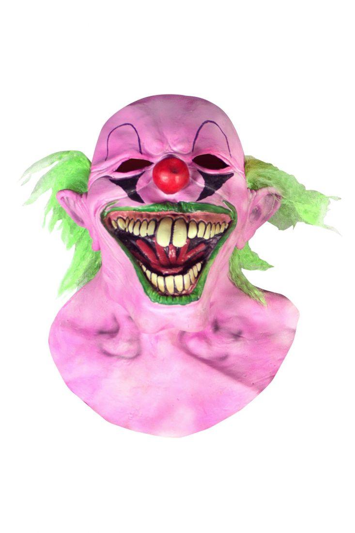 Маска Розовый клоун