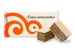 Вафли Горы Шоколада 1кг Сладонеж