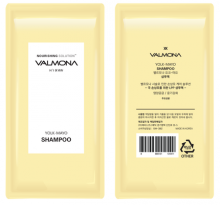 """EVAS"" VALMONA  Nourishing Solution Yolk-Mayo Shampoo Шампунь для волос ПИТАНИЕ, 10мл ПРОБНИК"