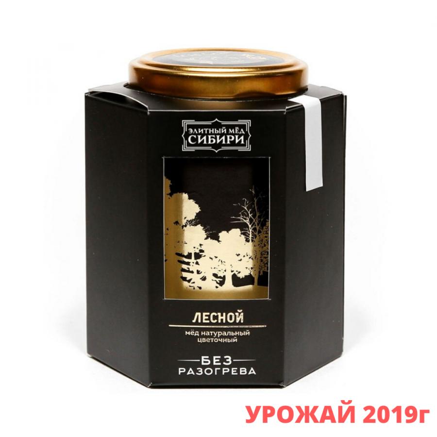 """""""Элитный мёд Сибири"""" мёд натуральный Лесной, 350г"""
