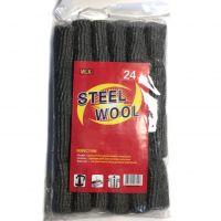 Набор Губок Из Металлической Шерсти Steel Wool, 24 шт (2)