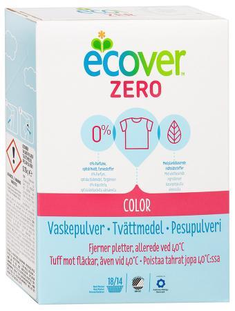 Ecover ЭКО Стиральный концентрированный порошок Zero для цветного, 750 г