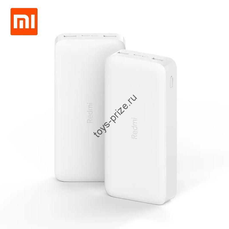 Внешний аккумулятор Xiaomi Redmi Power Bank 10000 mAh White