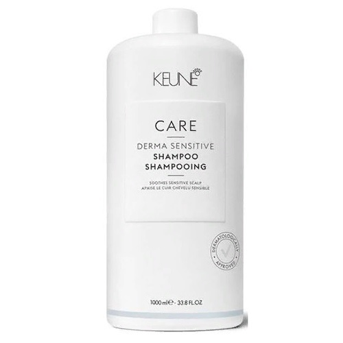 Keune Шампунь для чувствительной кожи головы/ Care Derma Sensitive Shampoo, 1000 мл.