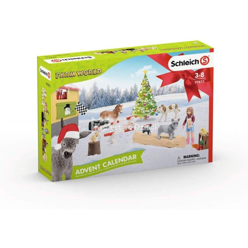Адвент календарь SCHLEICH - FARM WORLD 97873