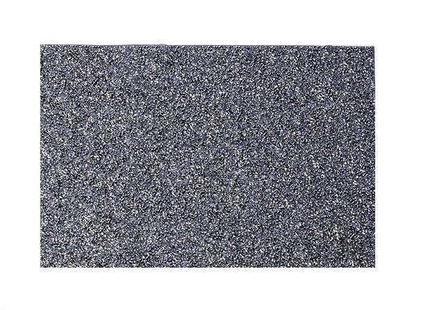 Силиконовый коврик для маникюра черный с пайетками