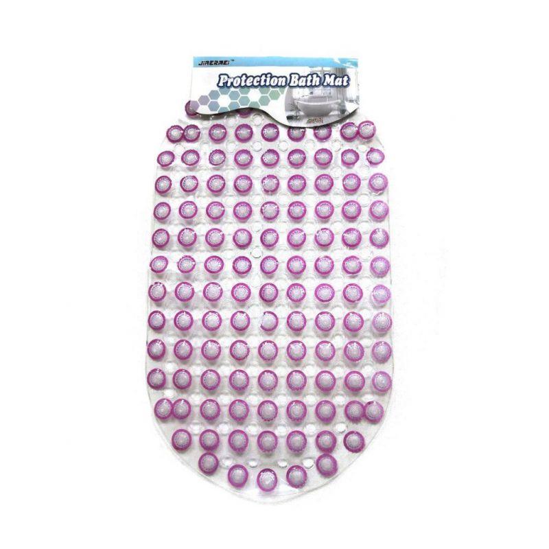 Противоскользящий Коврик Для Ванной «Пузырьки», Цвет Розовый