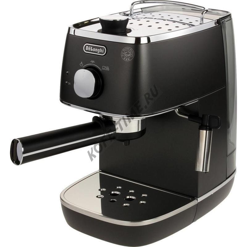 Кофеварка Delonghi ECI 341.BK Distinta (черный)