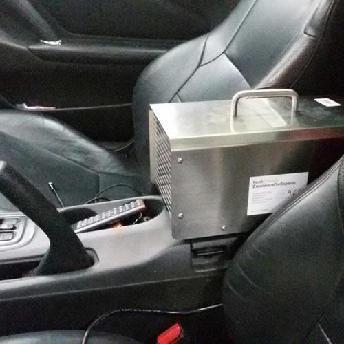 Озонирование салона авто