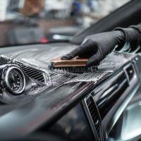 Химчистка пластика салона авто