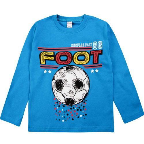 "Лонгслив для мальчика Bonito kids ""Football"" 5-8 лет"