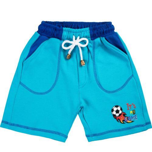 Шорты для мальчика Bonito kids 2-5 лет бирюзовые