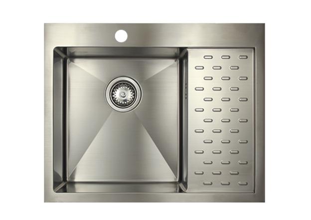 Врезная кухонная мойка Seaman ECO Marino SMB-6351PRS.A 63х51см нержавеющая сталь