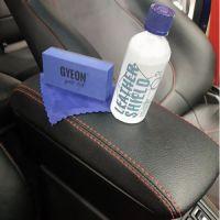 Нанесение кварцевой защиты на кожу салона авто Gyeon Leather Shield