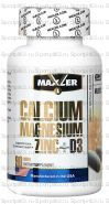 Maxler Calcium Zink Magnesium + D3 - 90 таблеток