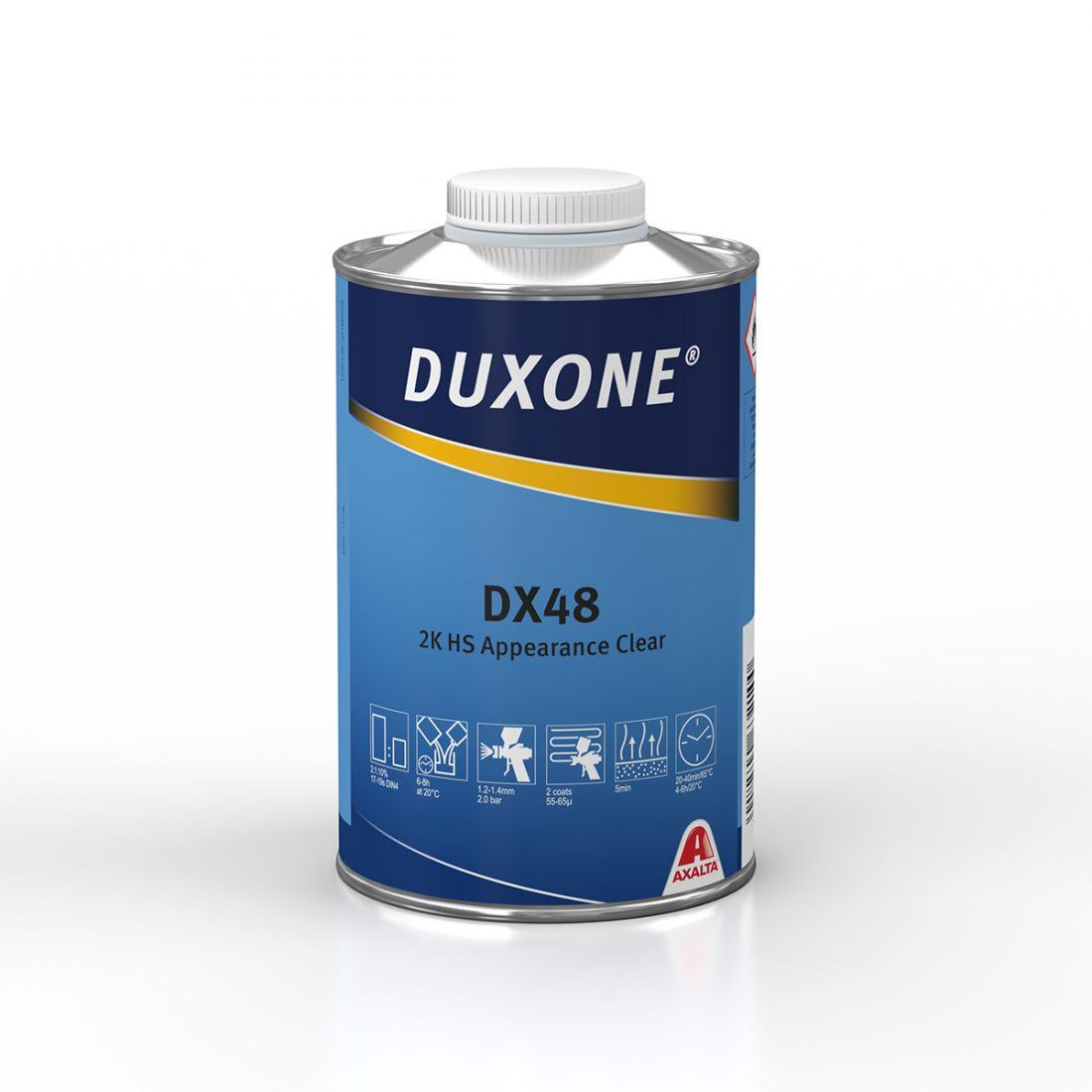 Duxone DX48 2К HS Акриловый лак, 1л.