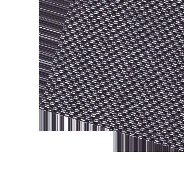 Коврик из страз серебро/черный самоклеящийся 24,5см х 40,5 см
