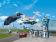 Конструктор LARI City Воздушная полиция: авиабаза 11210 (Аналог LEGO City  60210) 559 дет
