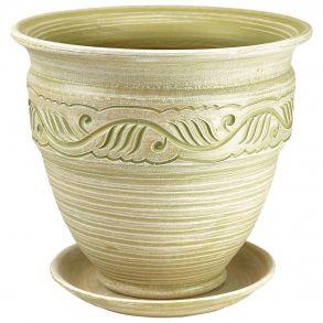 горшок неаполь вьюн св.оливка 4 6-24 (70-424)