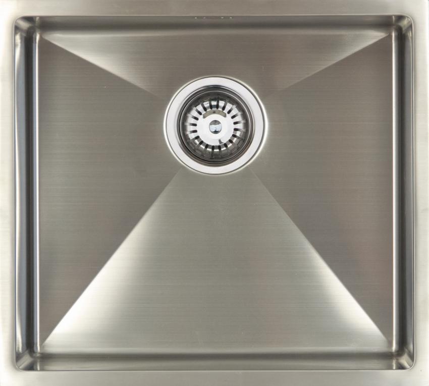 Врезная кухонная мойка Seaman ECO Marino SME-490.A 44х49см нержавеющая сталь