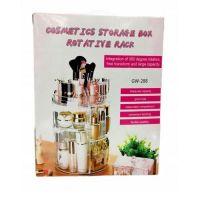 Вращающийся Органайзер Для Косметики GW-288 Cosmetic Storage Box Rotative Rack (7)