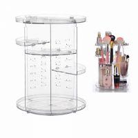 Вращающийся Органайзер Для Косметики GW-288 Cosmetic Storage Box Rotative Rack (2)