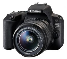 Фотоаппарат Canon EOS 200D Kit EF-S 18-55 III