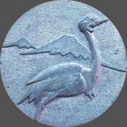 Настольная медаль Всесоюзный чемпионат птиц ЕРЕВАН 1987г СССР. РЕДКАЯ