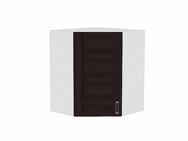 Шкаф верхний угловой Лофт ВУ590 (Wenge Veralinga)