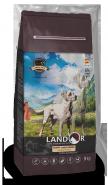 Landor Puppy Large Breed Lamb with rice Сухой корм для щенков крупных пород, с ягненком и рисом. 3 кг