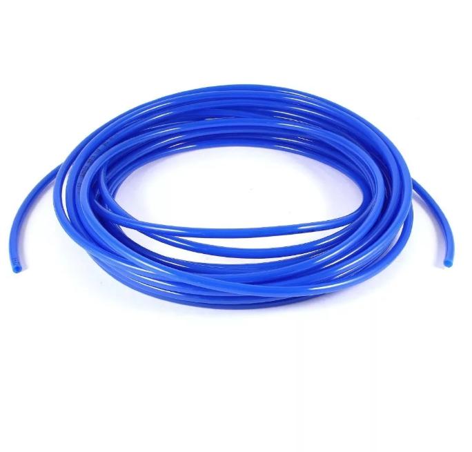 Шланг ПВХ, повышенной жесткости, 12*8 мм, 1 метр, синий