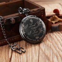 Лазерная гравировка карманных часов