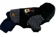 Casual Jeans Reindeer Snow Sport Комбинезон для собак мелких собак XXL