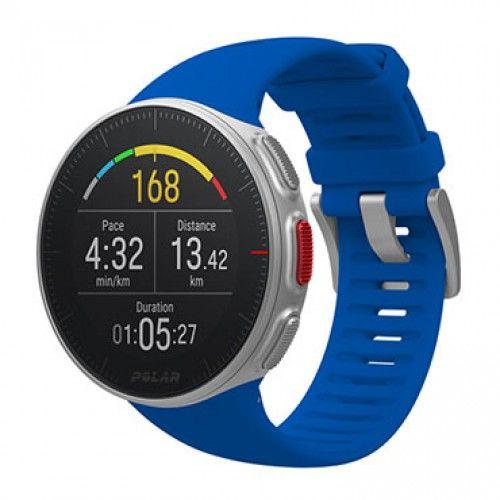 Мультиспортивные GPS-часы POLAR Vantage V, цвет: синий