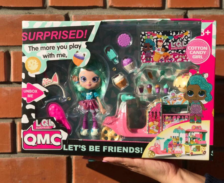 Игровой набор QMC Лол с модной куклой