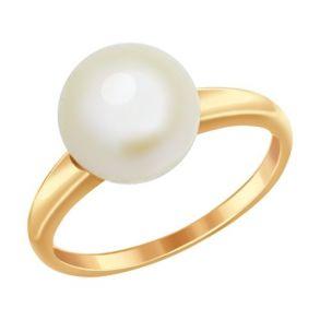 Кольцо из золота с жемчугом 791010 SOKOLOV