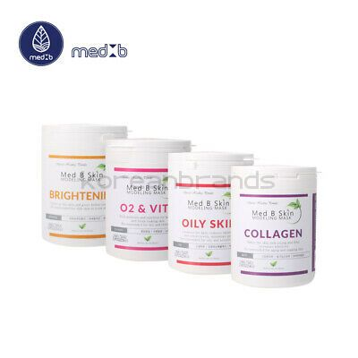 Med B Modeling Mask (New) 4 type (O2&Vita,Brightening, Skin Oily, Collagen)