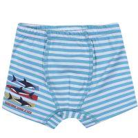 "Трусы-боксеры для мальчика Bonito kids 3-7 лет ""Shark attack"" голубые"